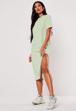 Robe T Shirt Robe Tee Shirt Imprimee Femme Missguided
