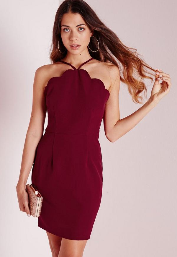 Red Strapless Draped Bodycon Dress – Page 8 – fashion dresses 048c09e9f