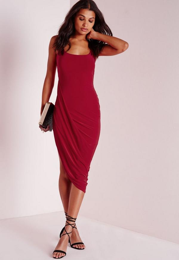 clothing drapes dresses products midi the women enlarged salvatore ferragamo dress draped
