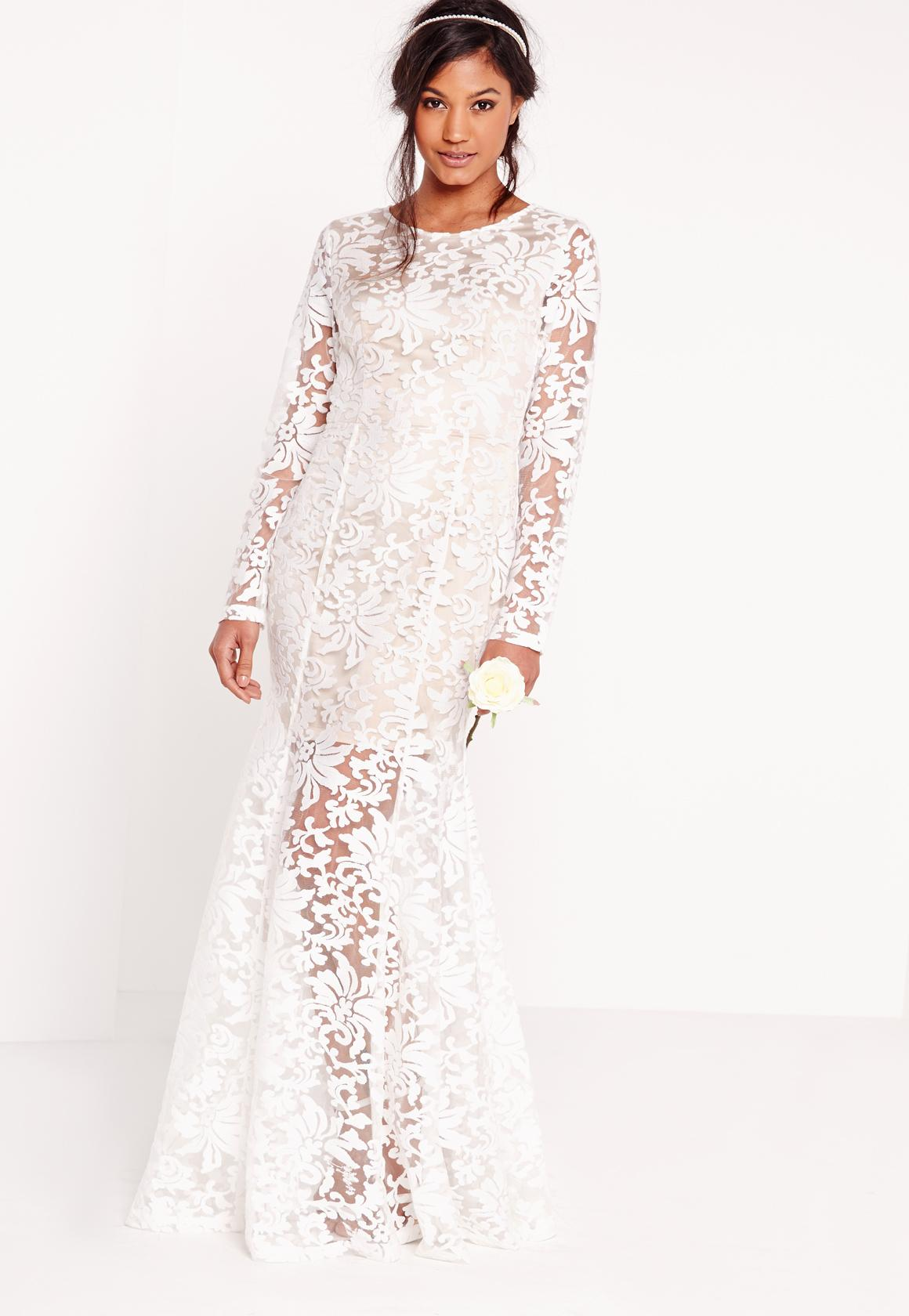 White maxi dresses weddings