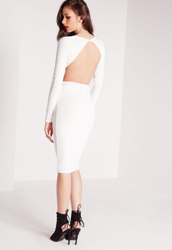 Long sleeve midi dress missguided returns