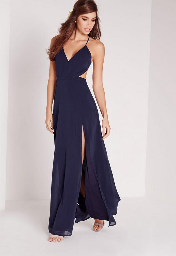 Cut Out Maxi Dresses