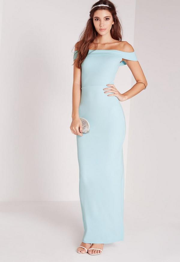 Bardot Maxi Dress Blue