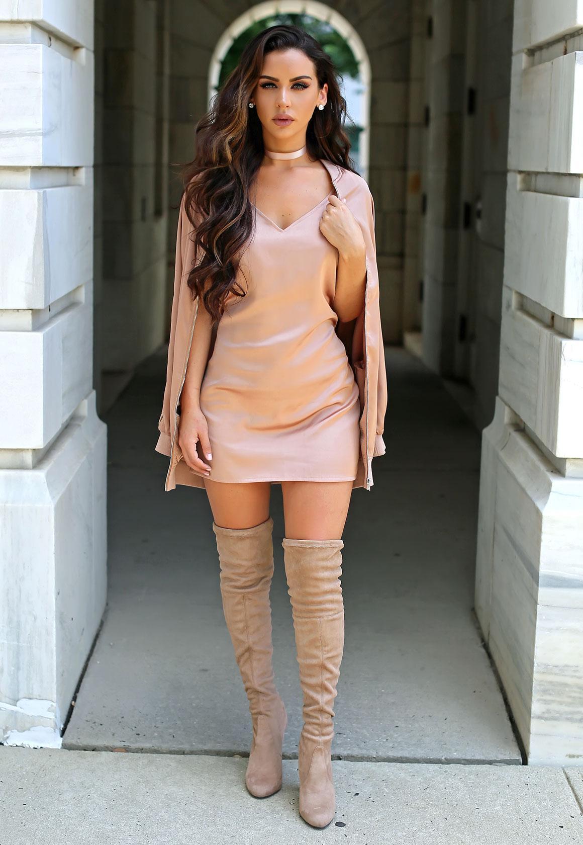 FashionDRA   Fashion : Wear The Hazelnut Trend Color (Pantone 2017)