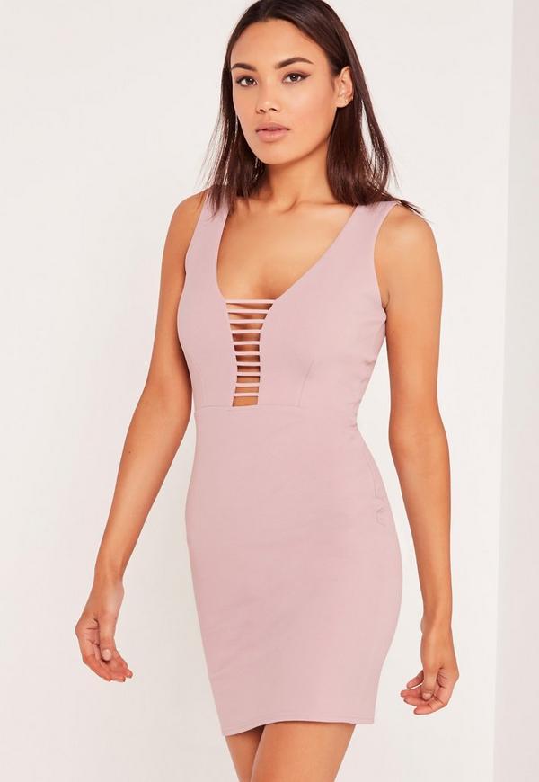 Lilac Bodycon Dress