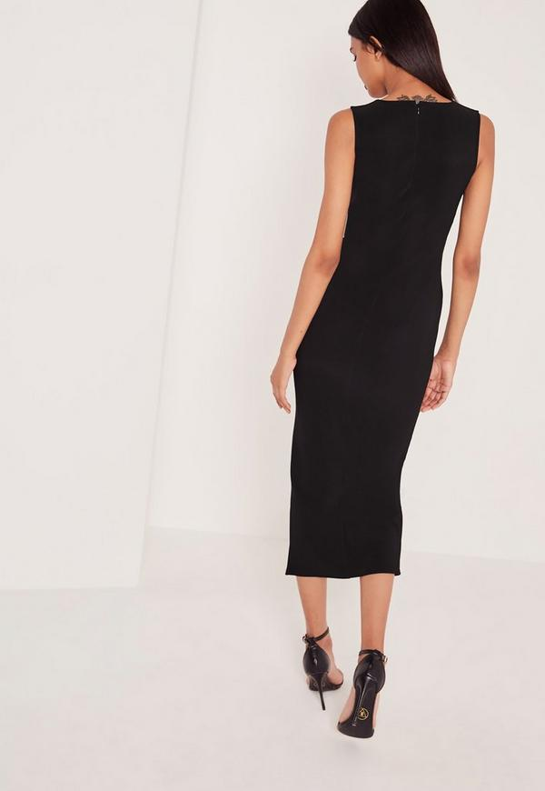 Rent Side Split Midi Dress by David Koma for $ - $ only at Rent the Runway.8/