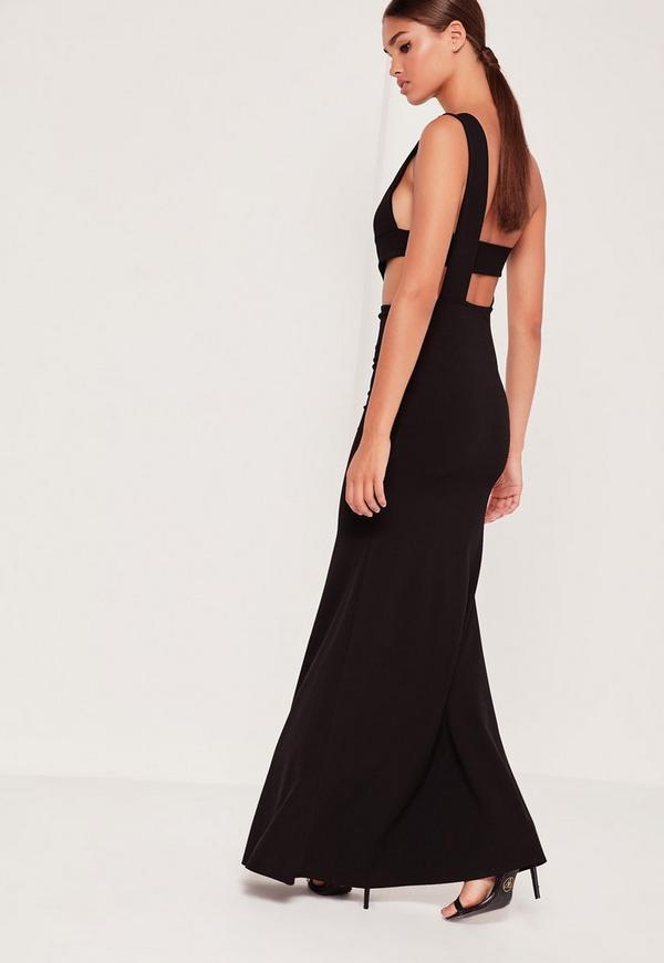 Cut out maxi dress australia