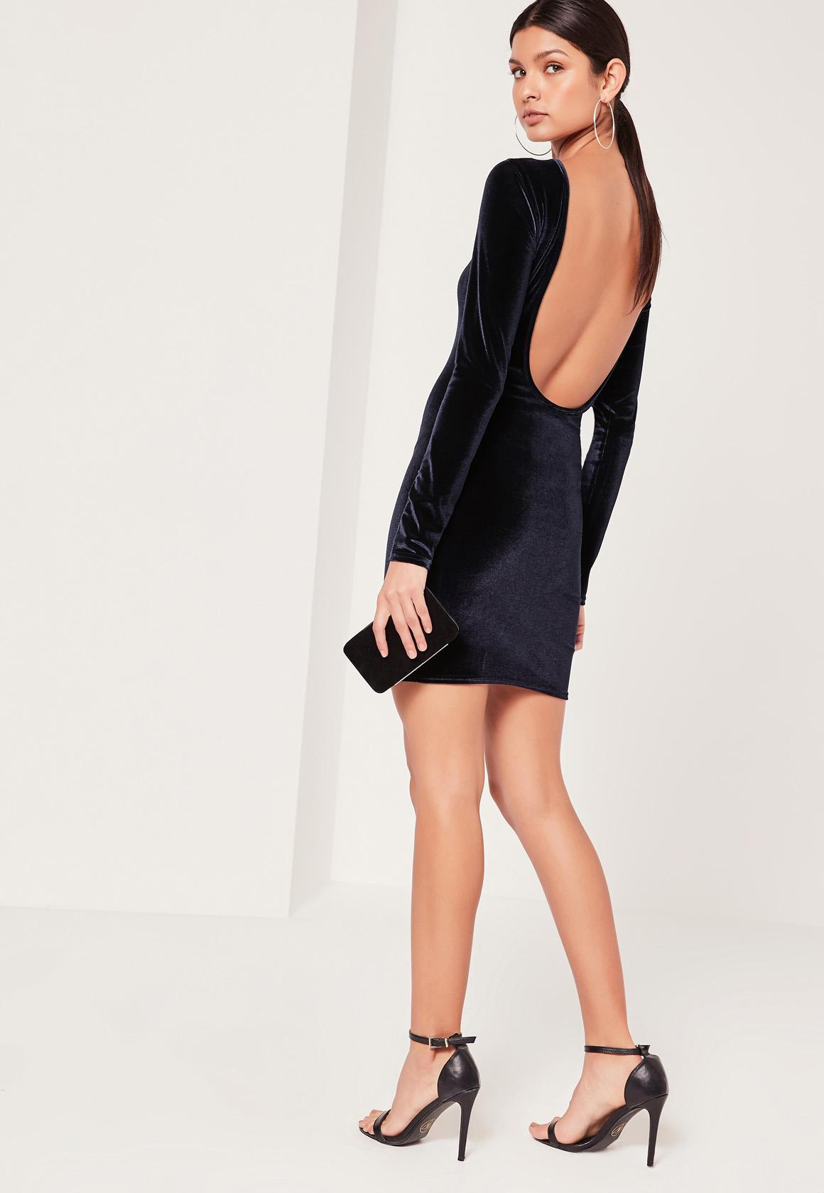 Low Back Cocktail Dress