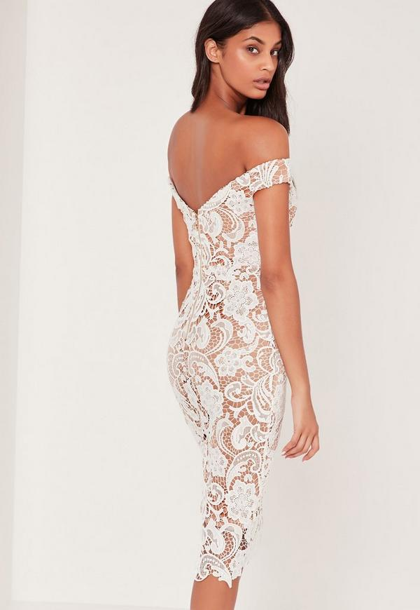 Missguided lace dress