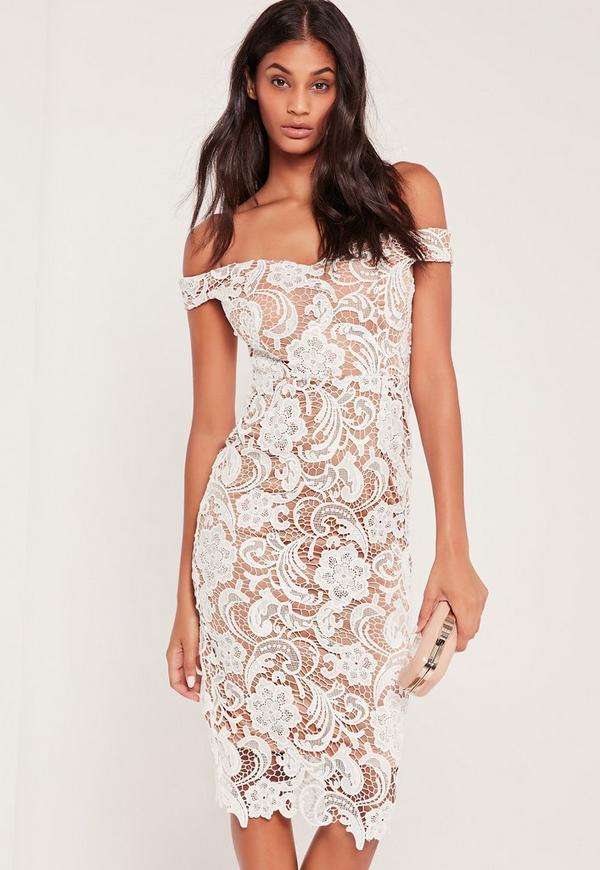 lace midi dress - photo #33