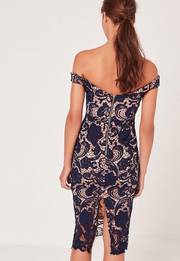 lace midi dress - photo #17