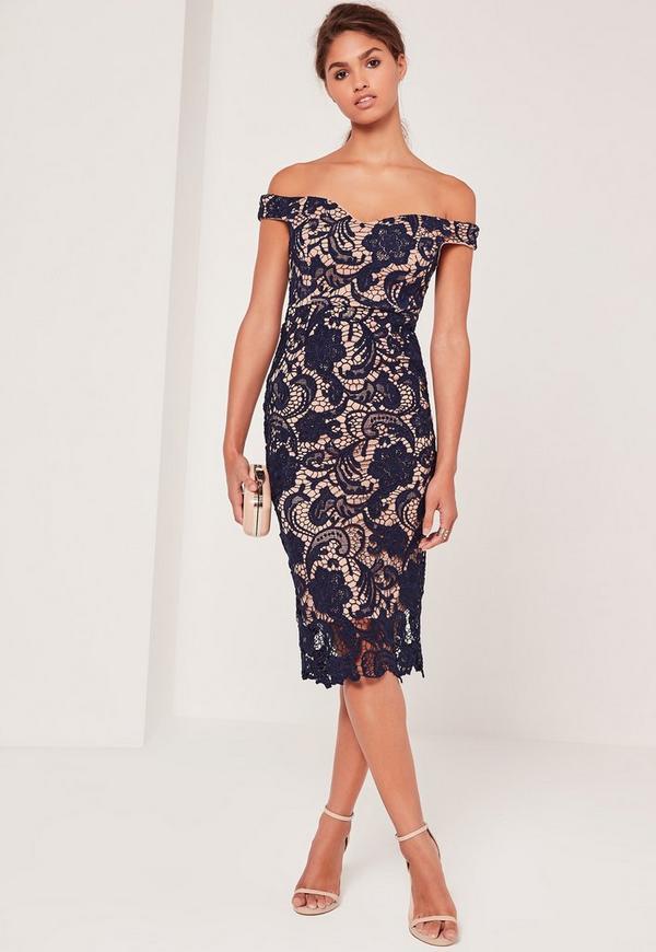 lace midi dress - photo #13