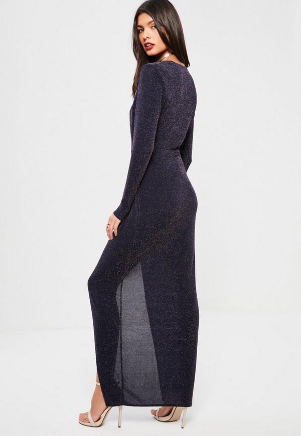 Lurex maxi dresses