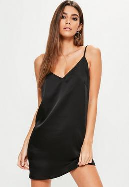 Silky Cami Dress Black