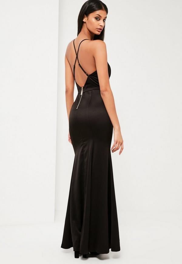 Love black maxi dress