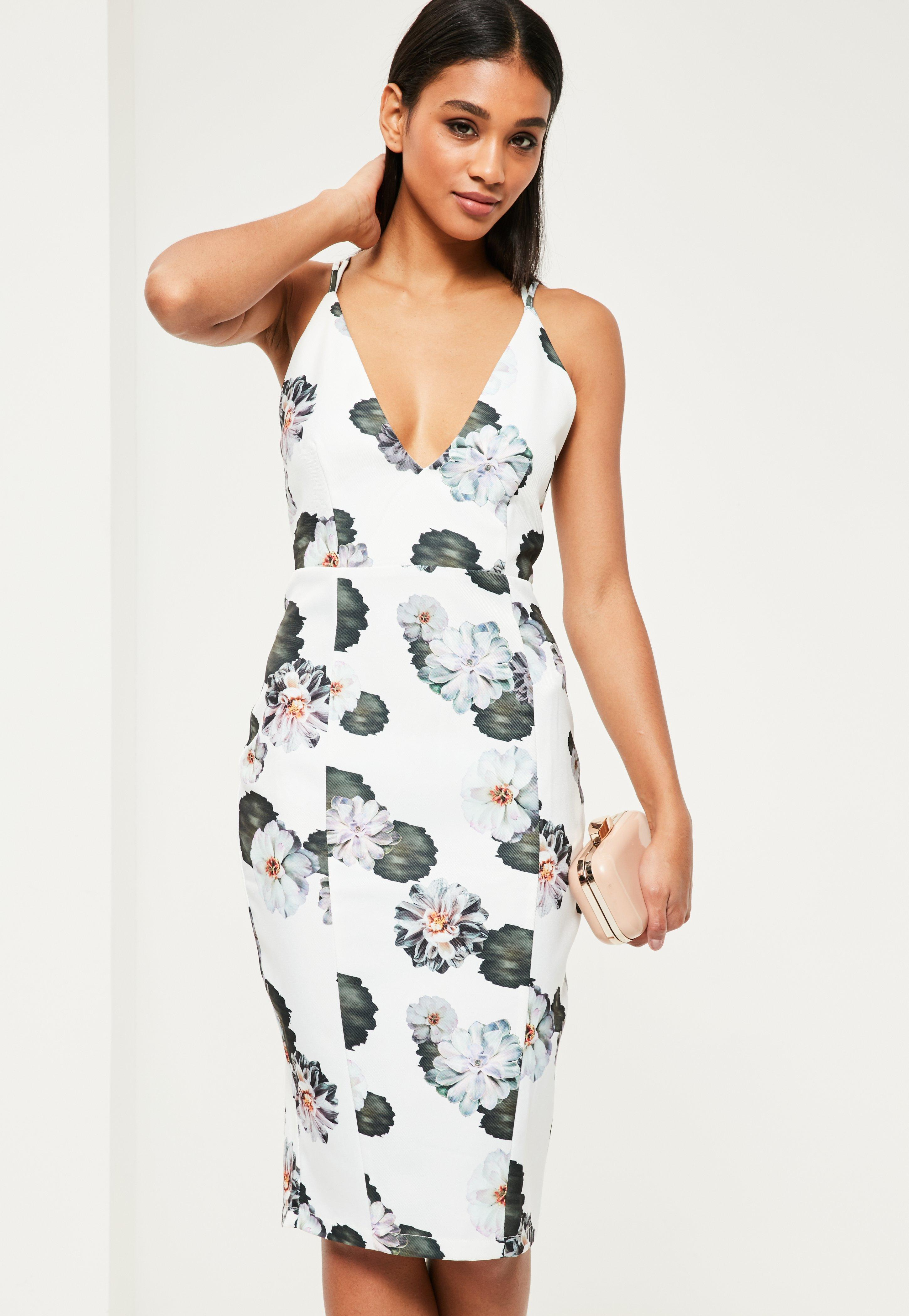 Missguided Lace Floral Midi Dress Clearance Best Store To Get lvFv6r8d