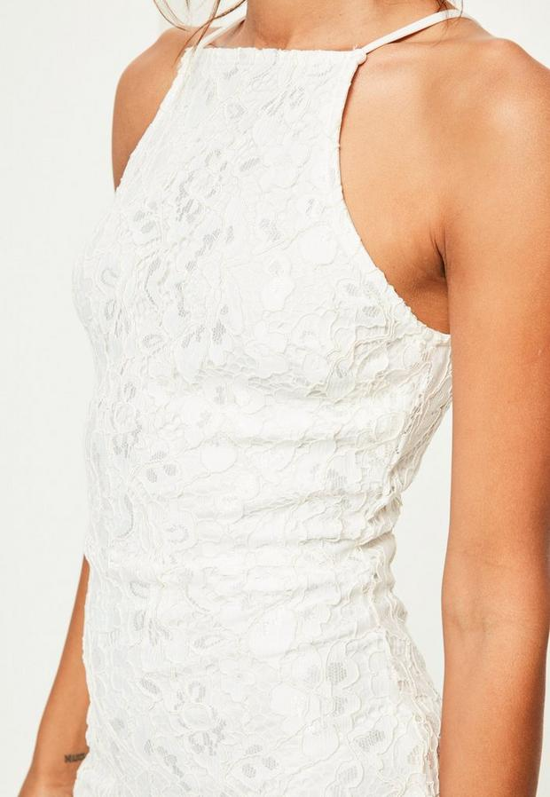 Missguided - Lace Square Neck Bodycon Dress - 2