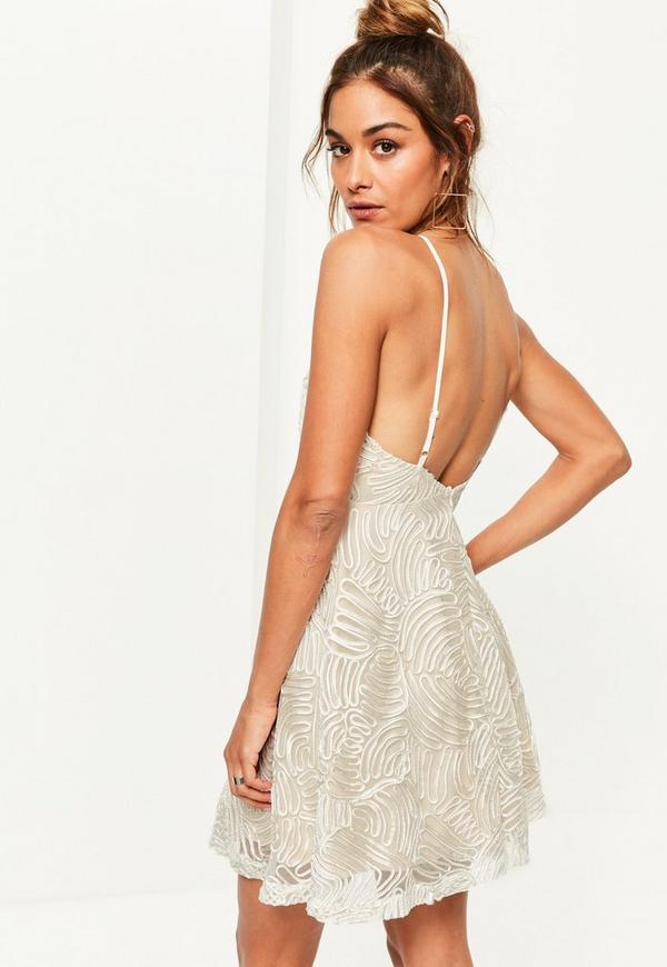 Nude Lace Dress 98