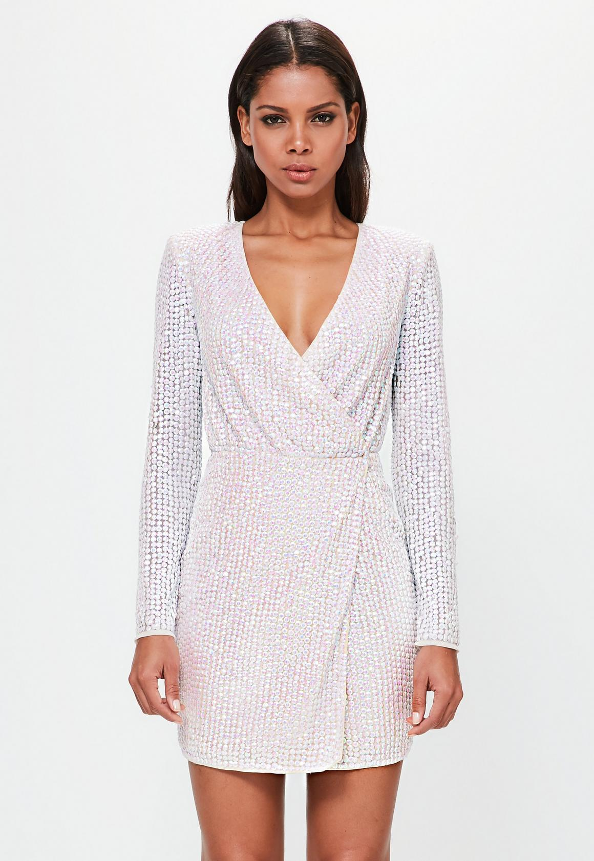 Image result for missguided peace love pearlescent wrap