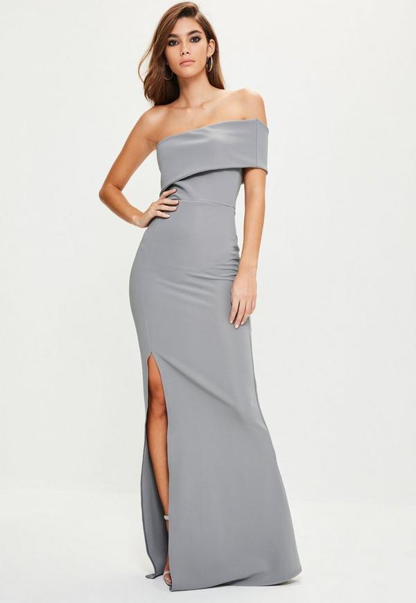 One shoulder maxi dresses uk only