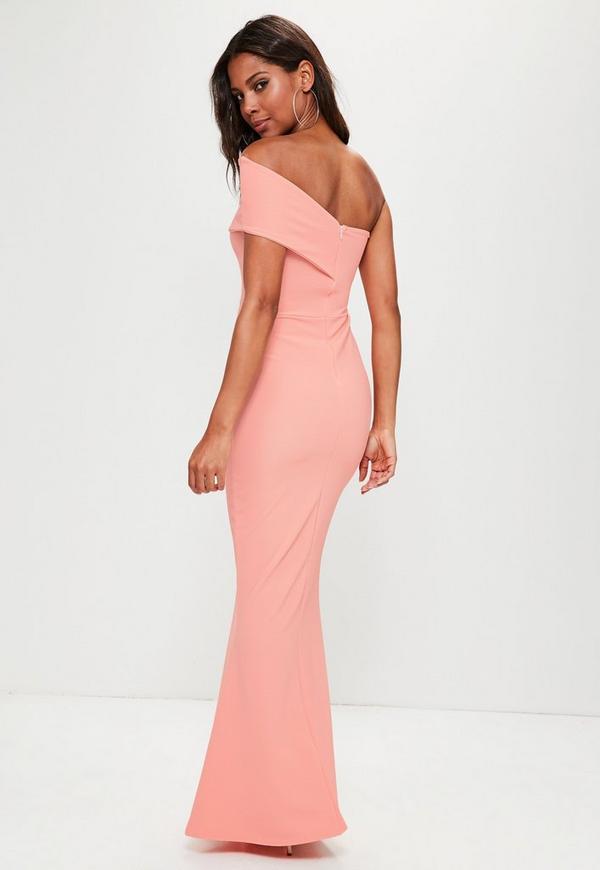 Coral Maxi Dresses