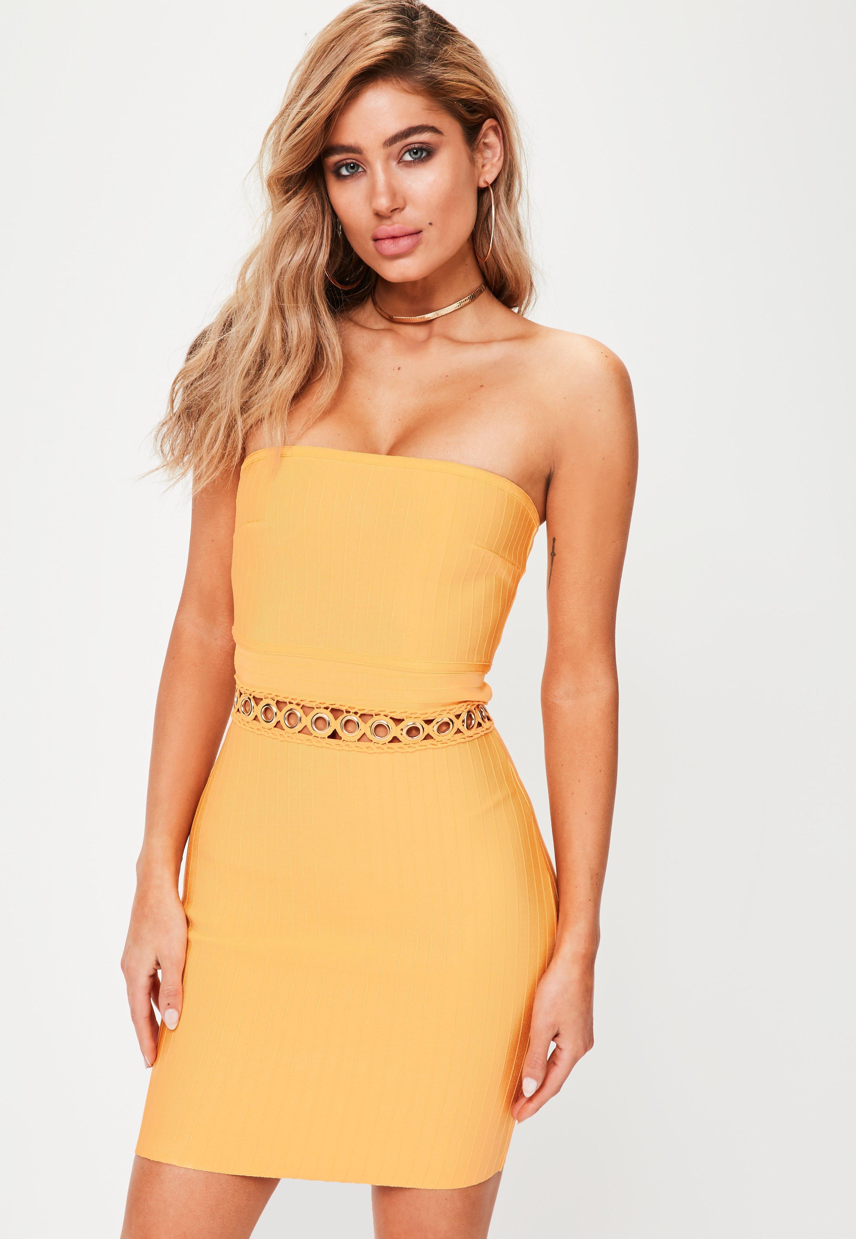 Strapless Dresses Online, Bandeau Dresses - Missguided Australia