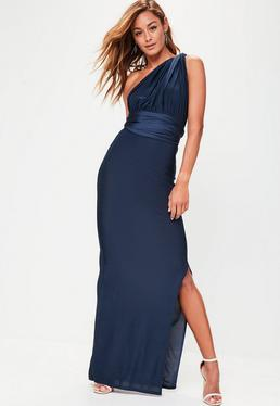 Navy Slinky Multi Way Maxi