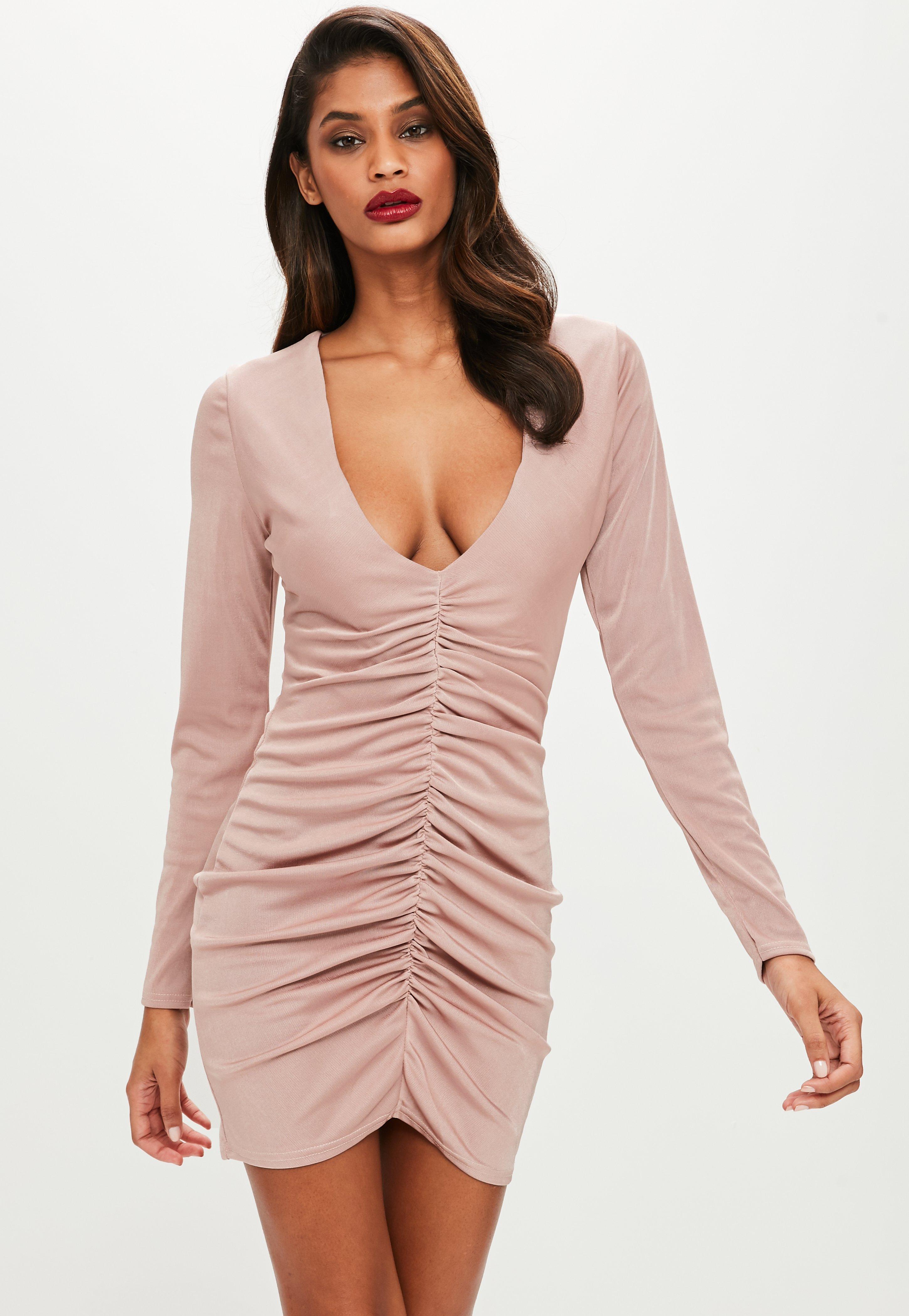 Evening dress purple xmas