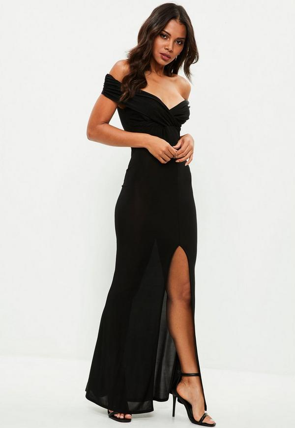 Shop for BLACK XL Cold Shoudler High Split Maxi Dress online at $ and discover fashion at private-dev.tk Cheapest and Latest women & men fashion site including categories such as dresses, shoes, bags and jewelry with free shipping all over the private-dev.tk: Rosegal.