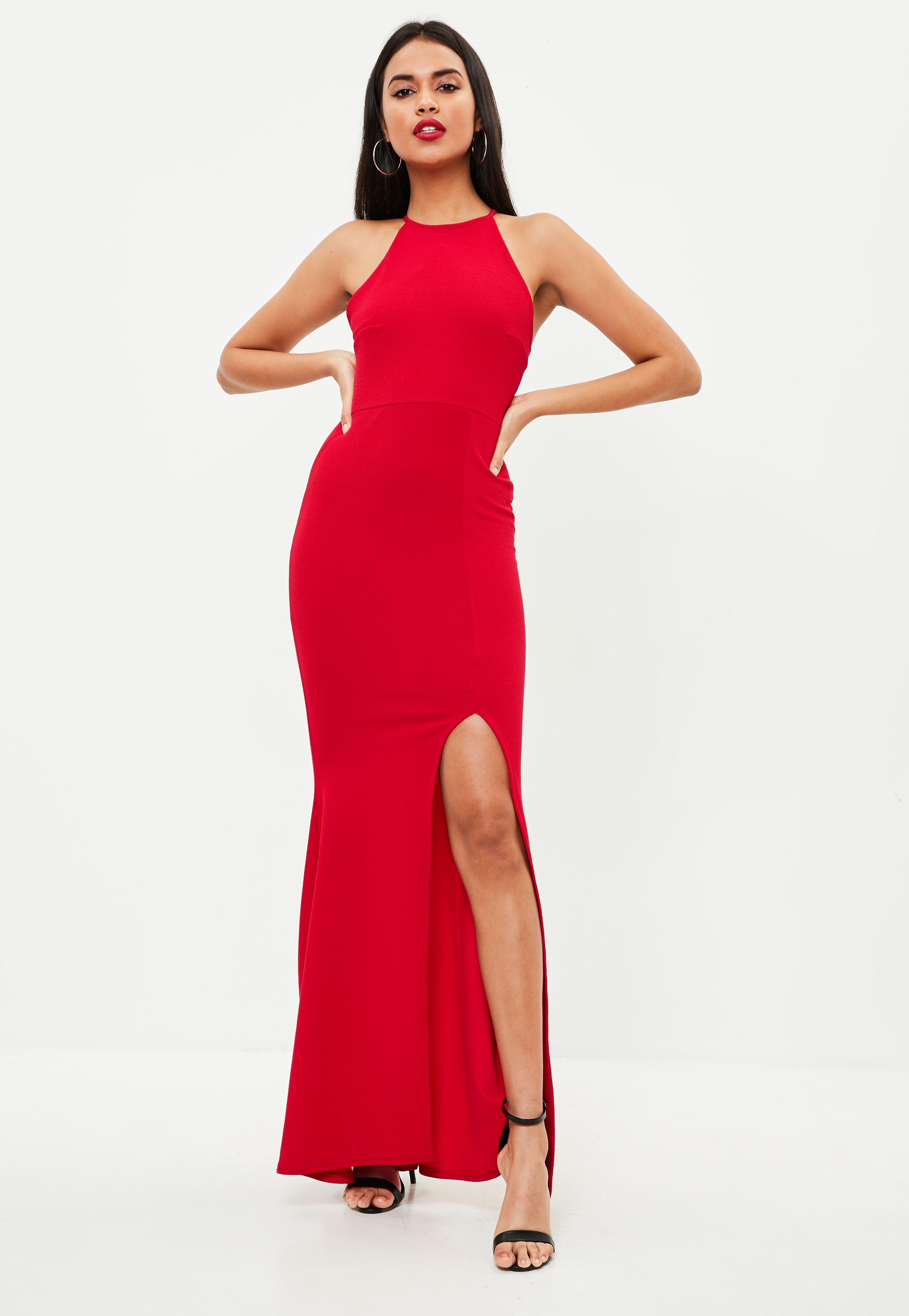 Cheap Red Maxi Dress