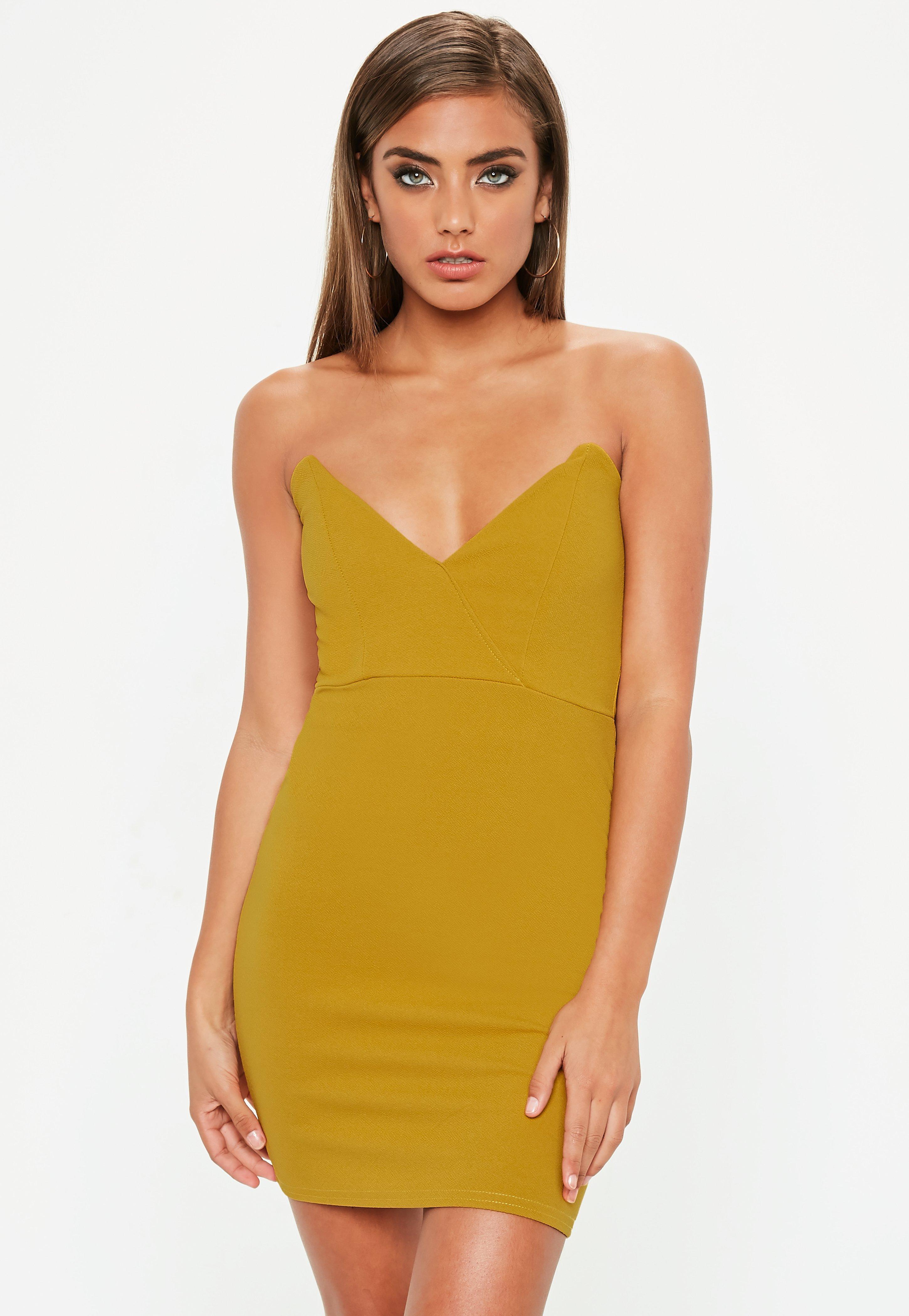 Bandeau-Kleid – Trägerlose Kleider online shoppen - Missguided DE