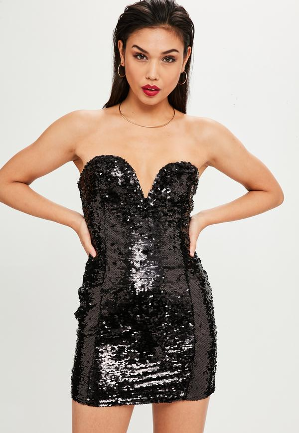 Discover women's sequin dresses at ASOS. Shop our range of sparkly and glitter dresses, including breaded and embellished dresses in a variety of colours.
