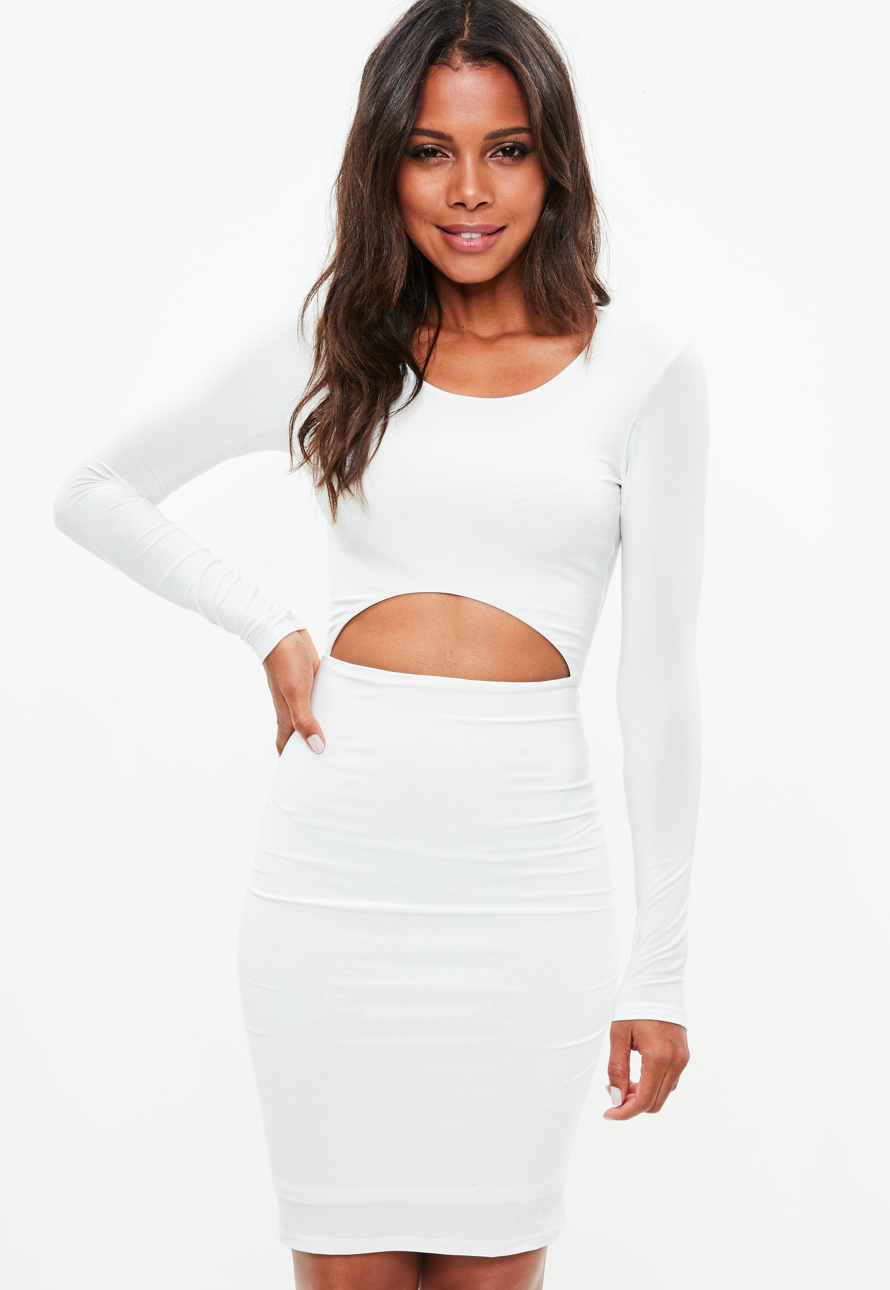 Crop Top Midi Dress