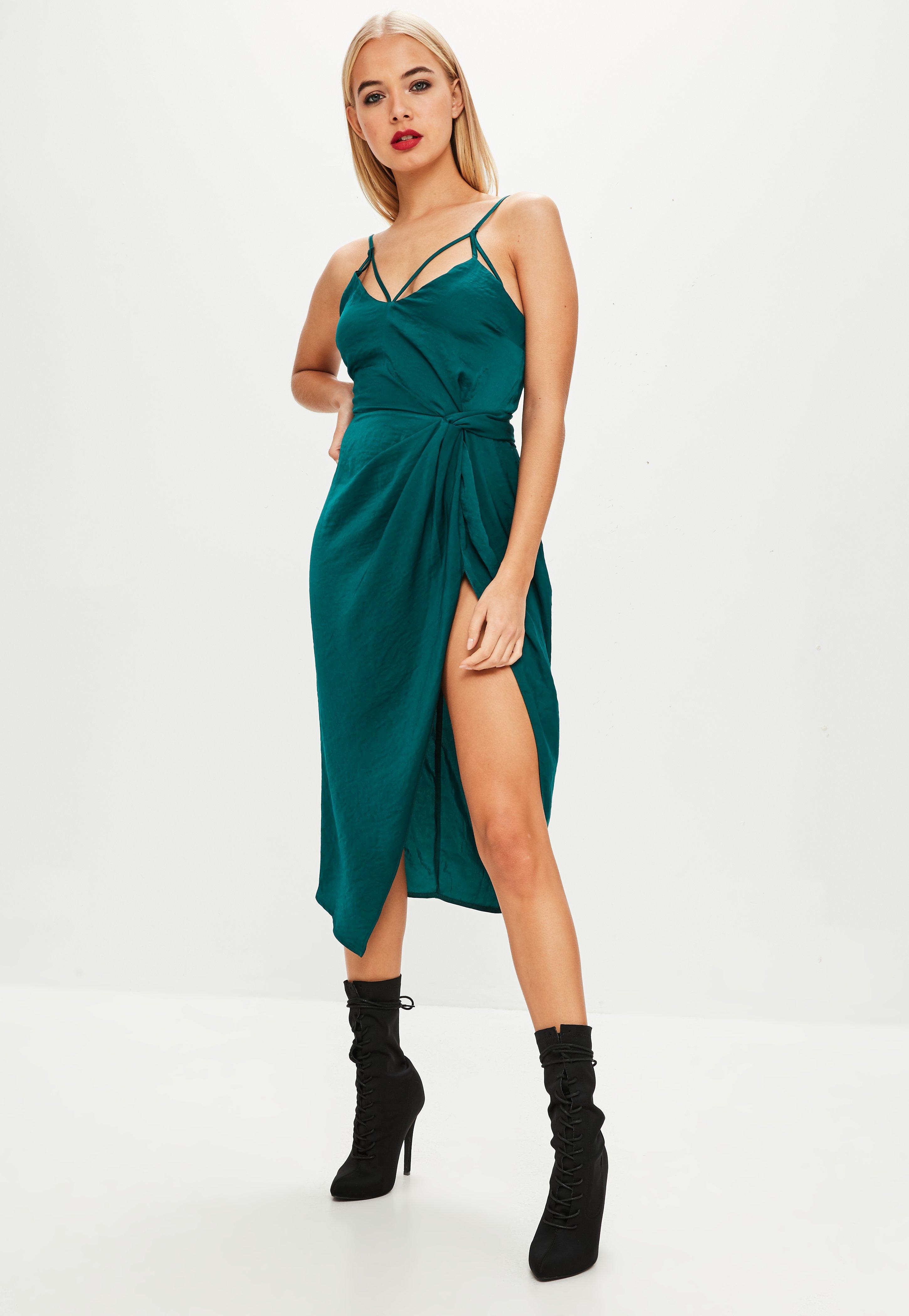 Midi Dresses | Knee Length Dresses - Missguided Australia