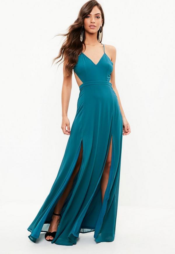 Blue Maxi Dress | Missguided