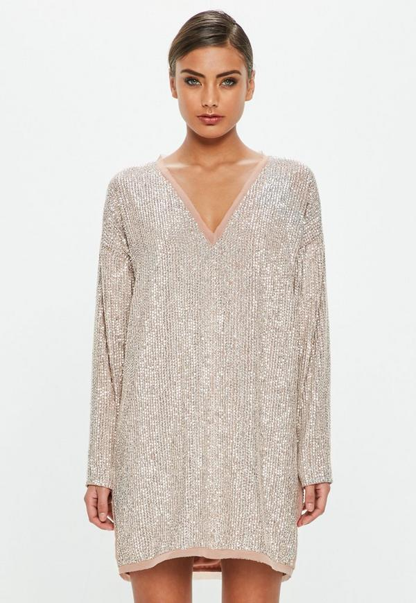 Love Sequin Dress