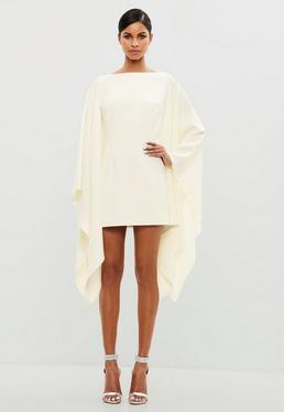 Peace + Love White Kimono Style Dress