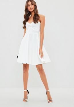 Cheap white tube dress