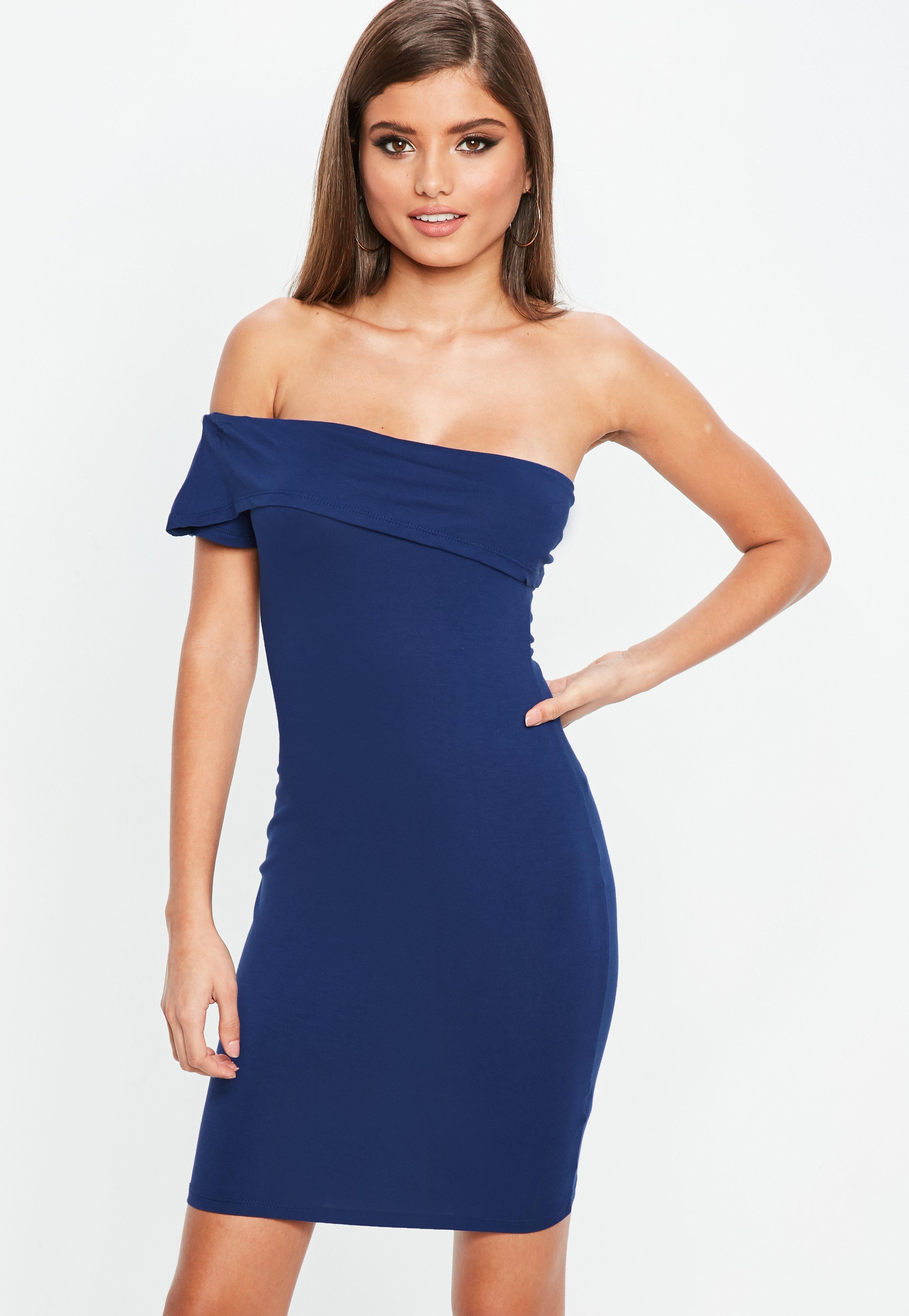 Blue Dresses - Navy, Royal Blue & Cobalt Dresses - Missguided