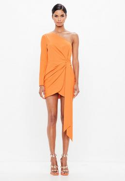 Orange Dresses Burnt Orange Dresses Missguided