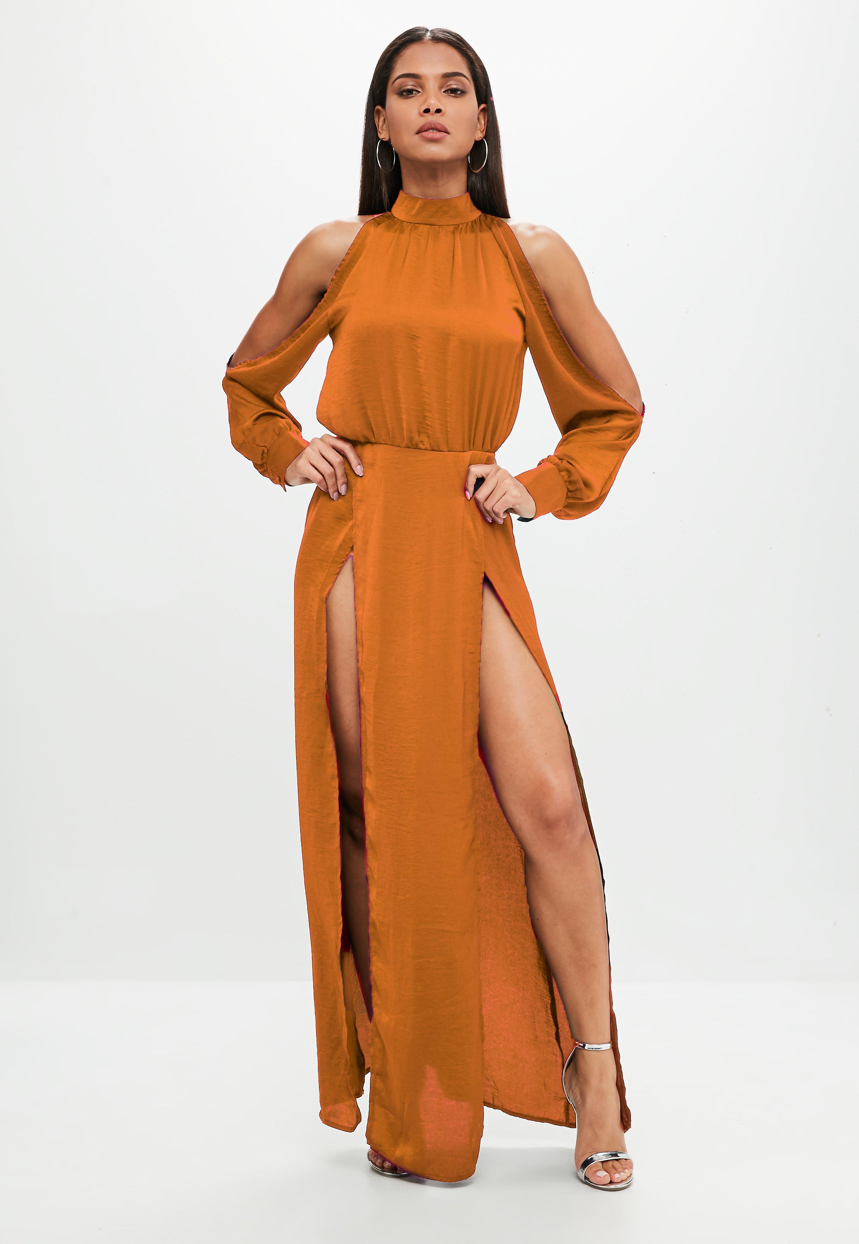 Satin Dresses | Shop Silky Dresses - Missguided