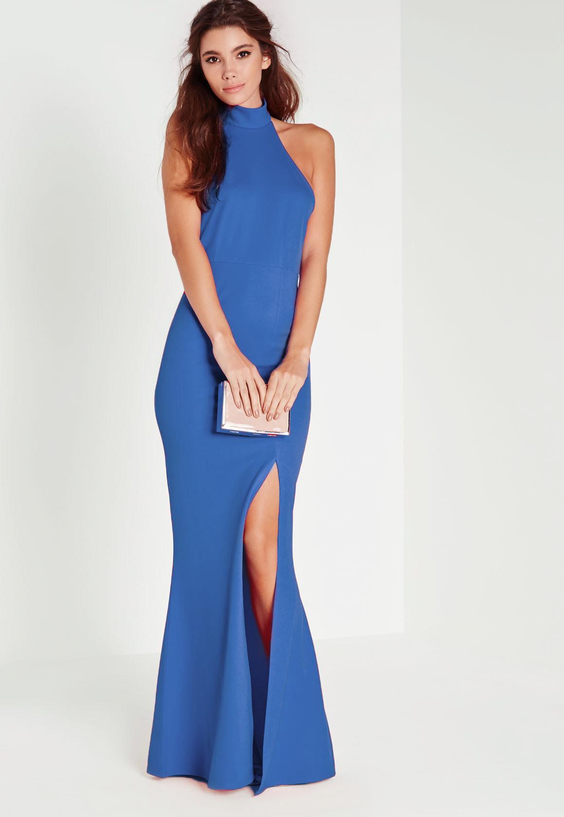 Halterneck Dresses   Shop Halter Top Dresses - Missguided