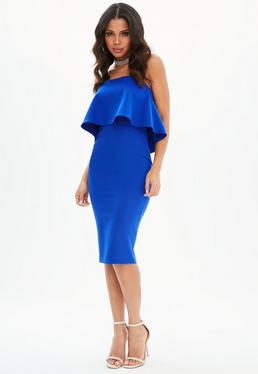 Cobalt Blue Dress
