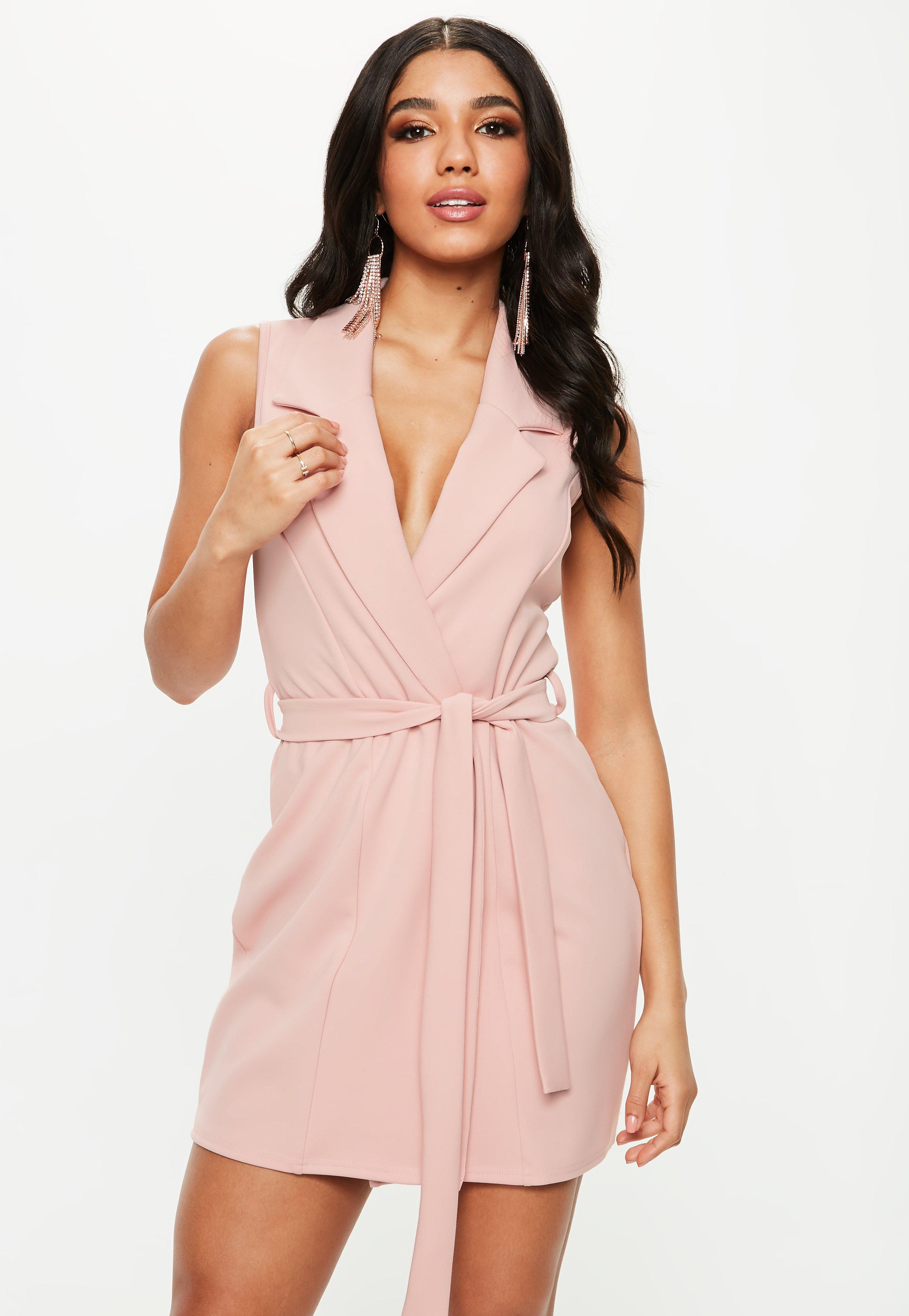 Blazer Dresses | Shop Tuxedo Dresses - Missguided
