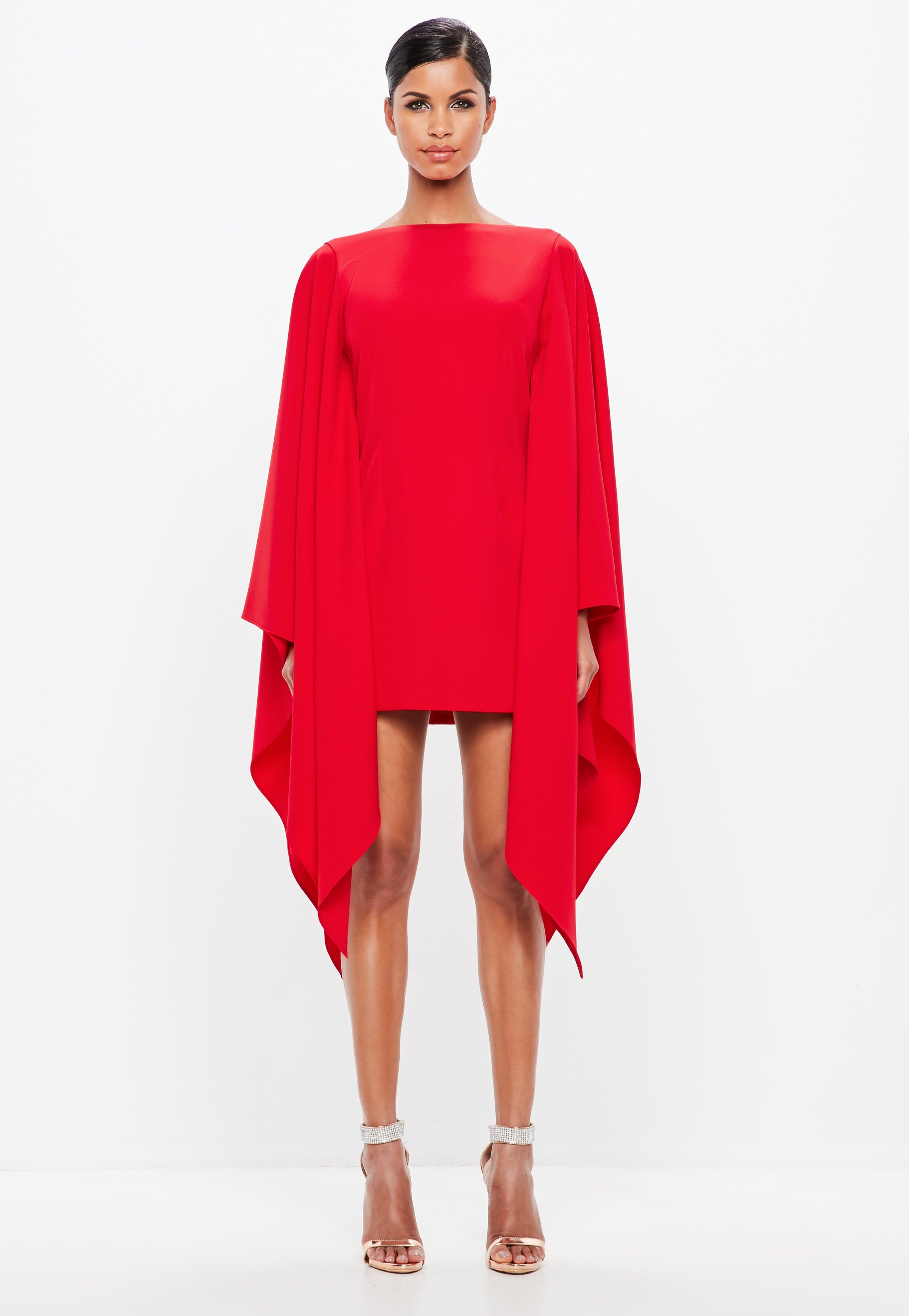 Peace + Love Red Kimono Sleeve Midi Dress  1d1bf8af8
