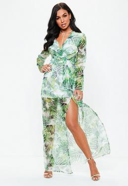 Maxi Dresses Long Dresses With Slits Online Missguided