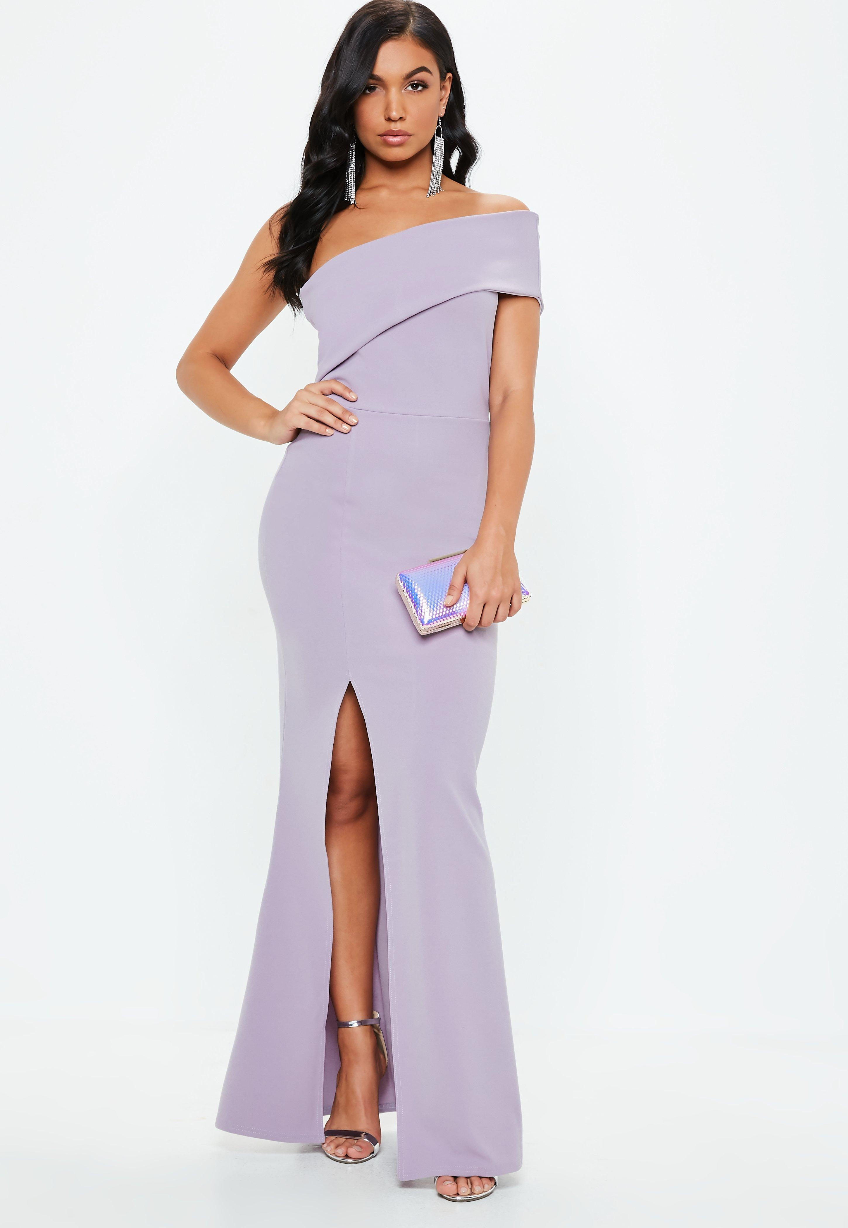 One Shoulder Dresses Shop One Sleeve Dresses Missguided