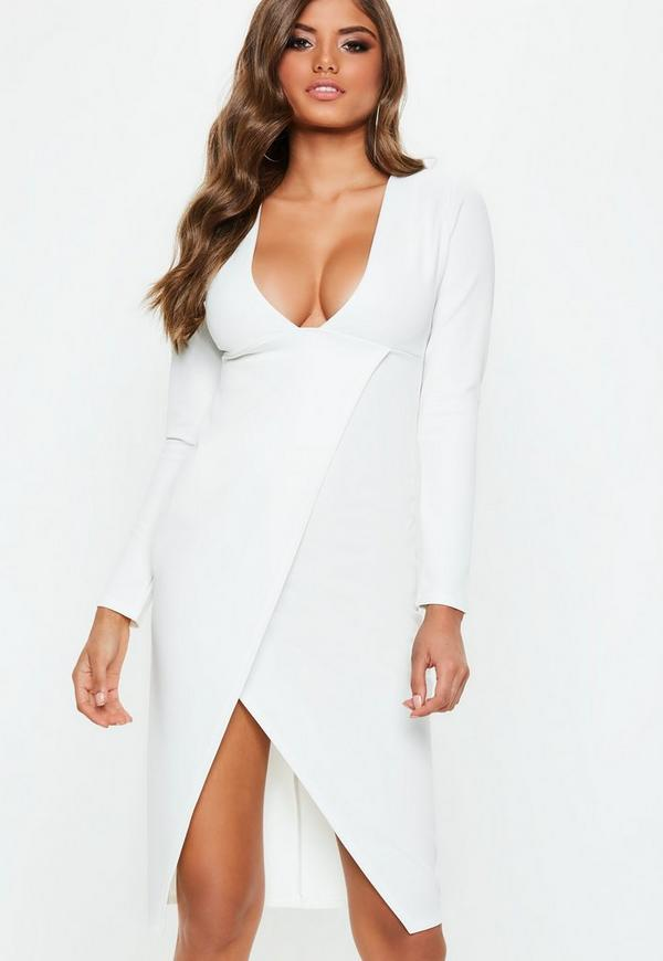 Robe blanche sexy