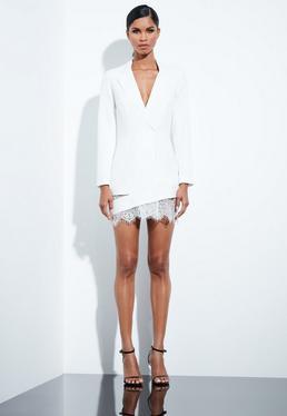 Blazer Dresses Women S Tux Dresses Missguided