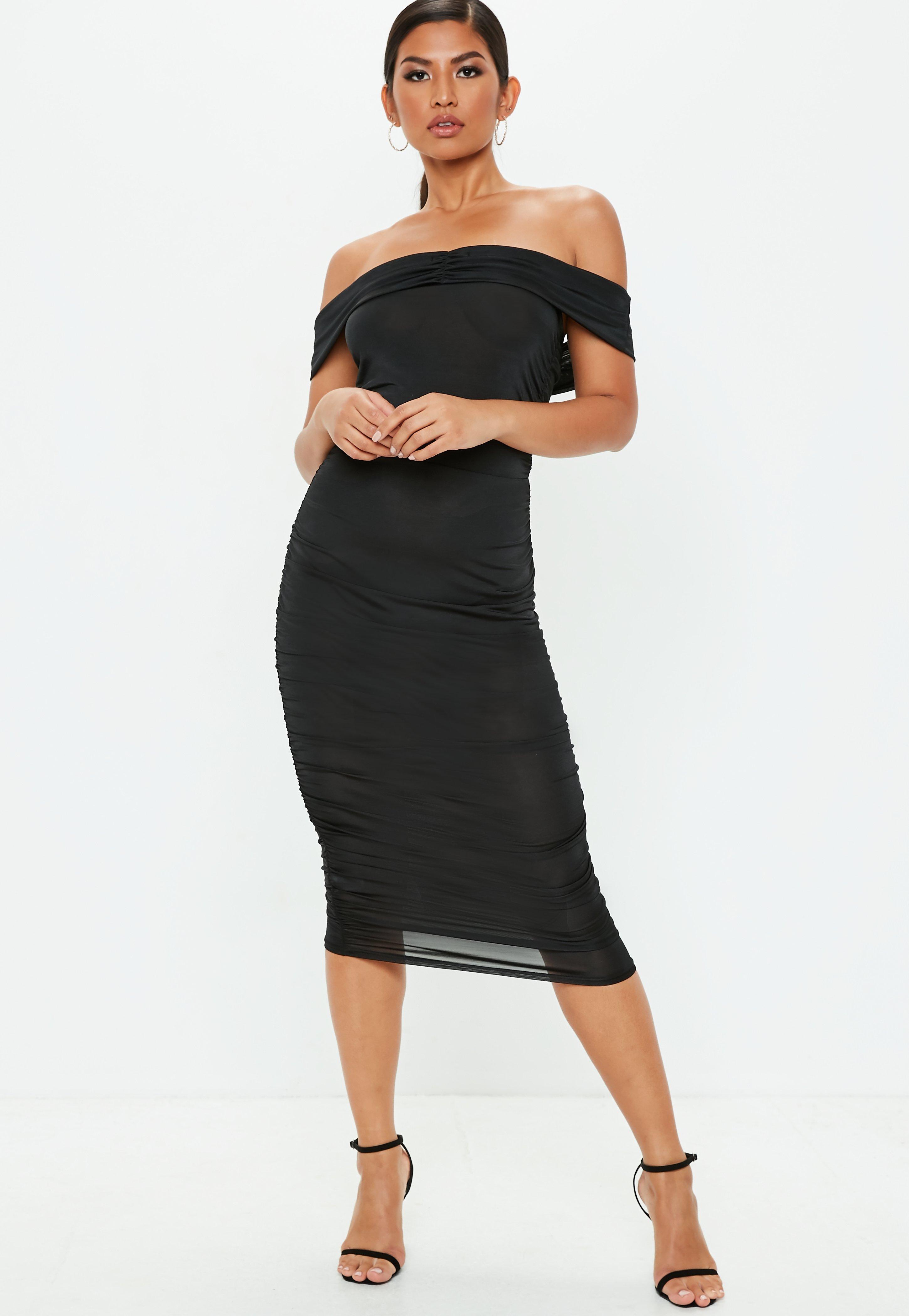 Kleid schwarz lila oder weib gold